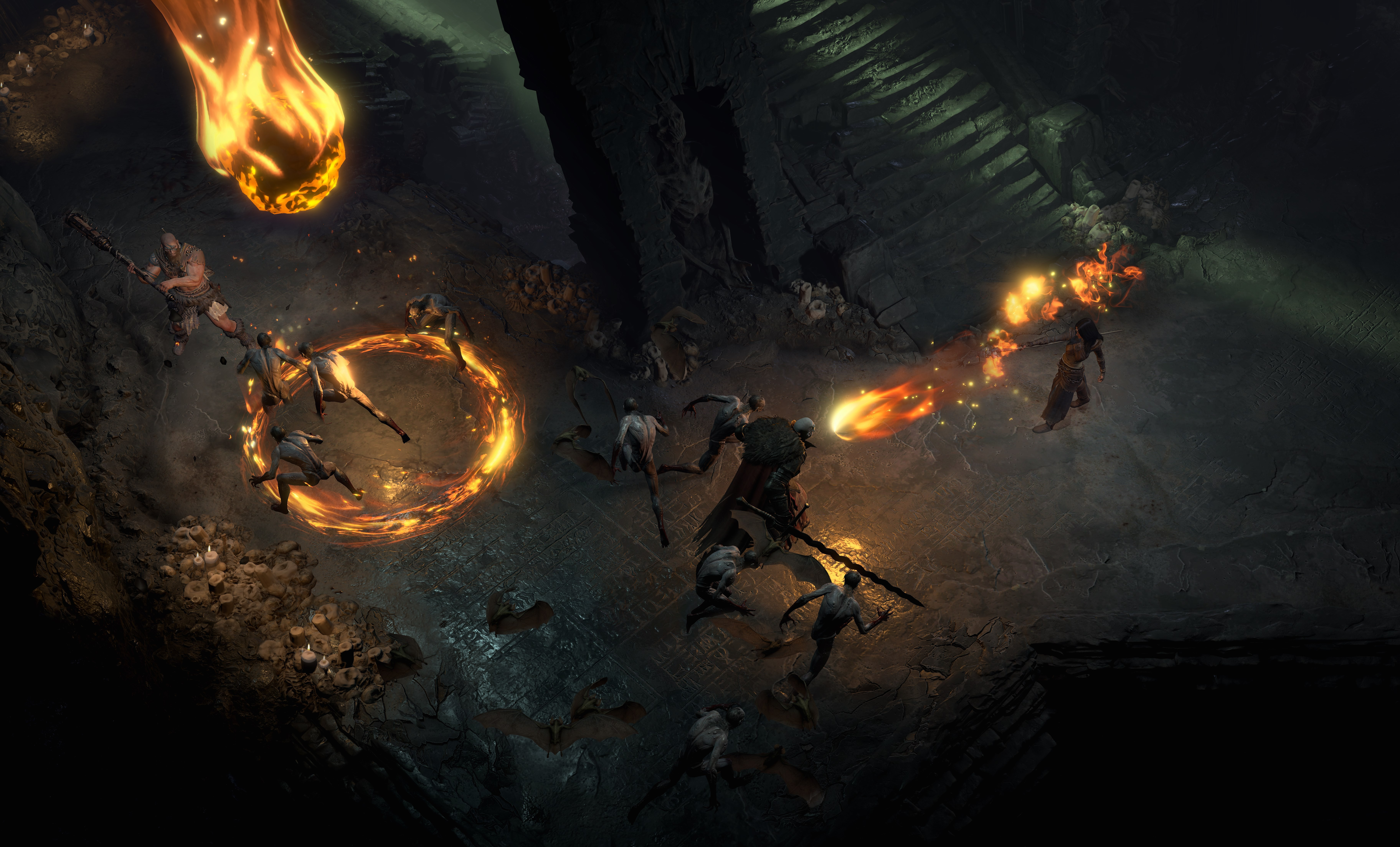 Diablo IV Combat Ancients Multiplayer game screenshot