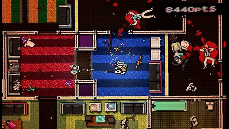 Hotline Miami game screenshot