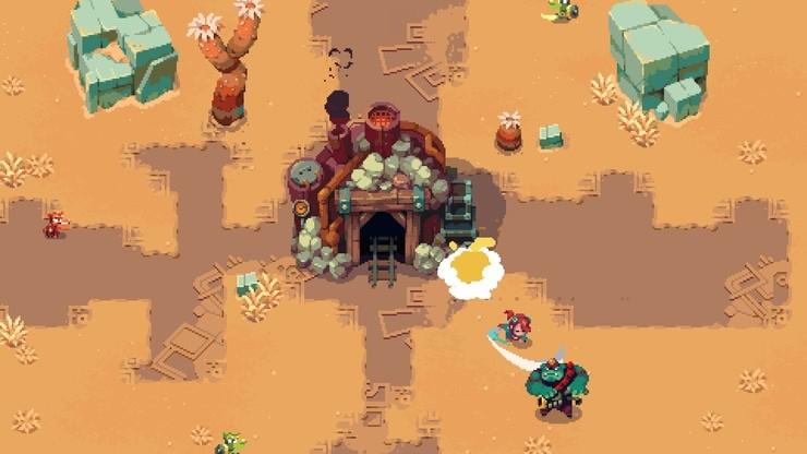 Sparklite game screenshot