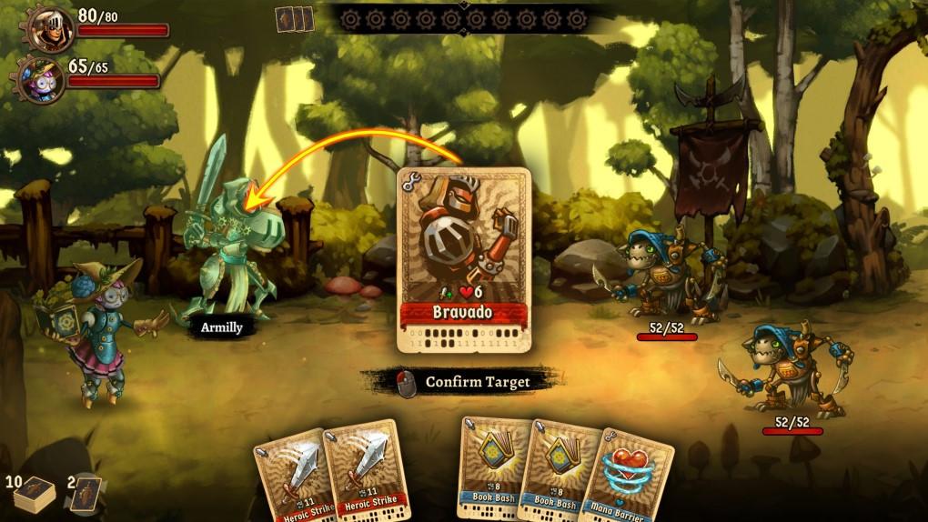 SteamWorld gameplay