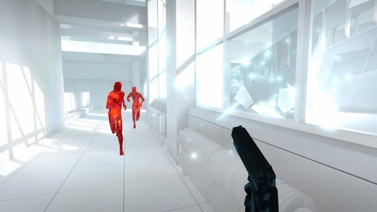 Superhot game screenshot