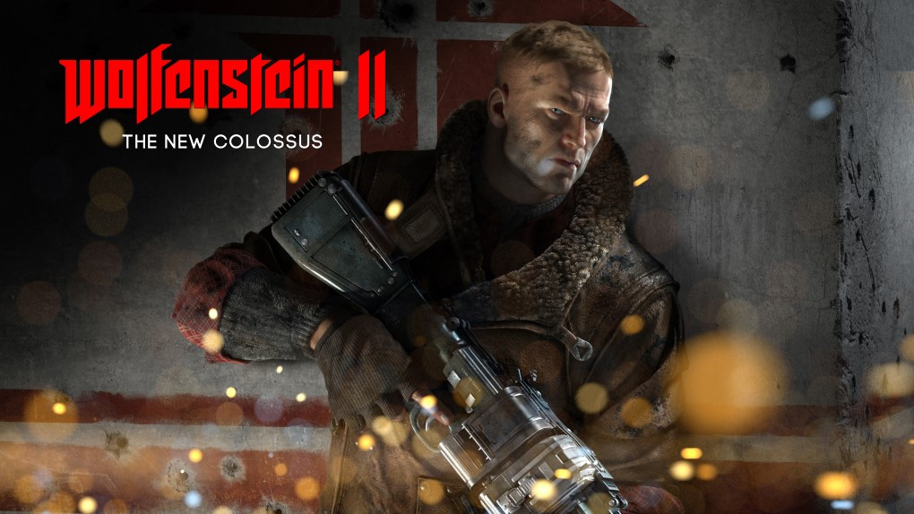 Wolfenstein 2: The New Colossus poster